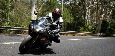Riding on Old Pacific Highway on my R1